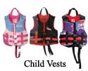 Child Vests (30 to 50Lbs)