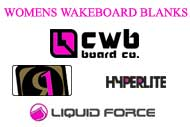 Womens Wake Board Blanks